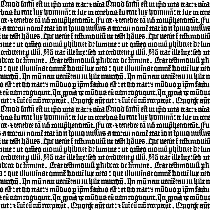 Download Gutenberg stock vector. Illustration of early, gutenberg - 3094032