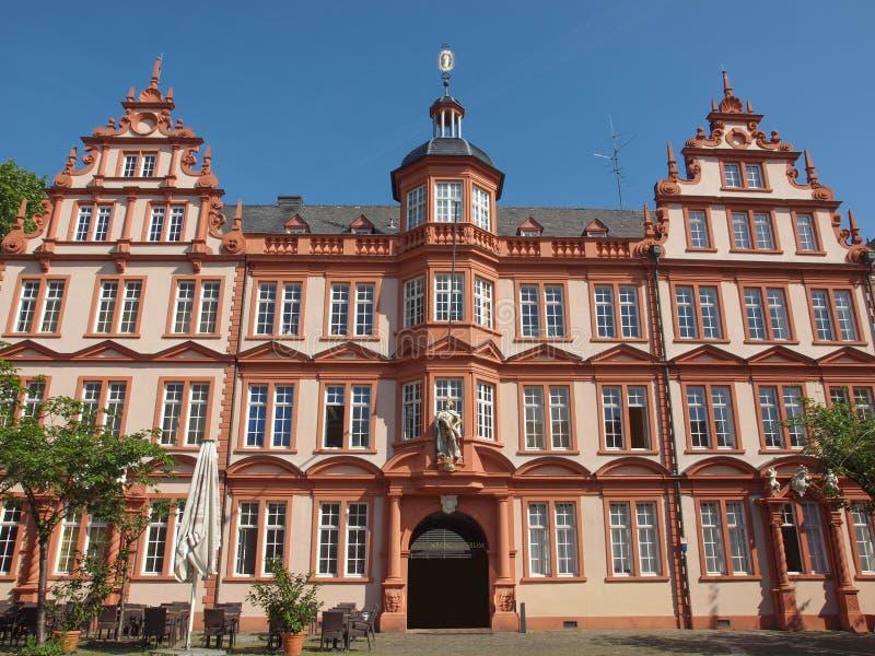 Gutenberg muzeum obraz royalty free
