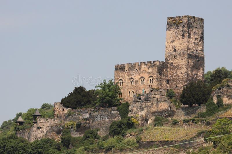 Gutenfels Schloss stockbilder