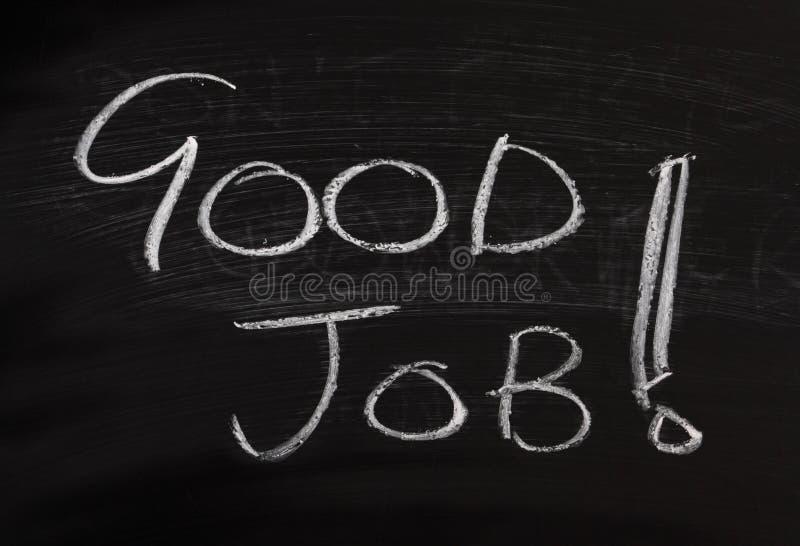 Guter Job! lizenzfreie stockfotos