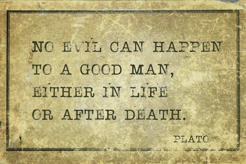 Guter Mann Plato lizenzfreie abbildung