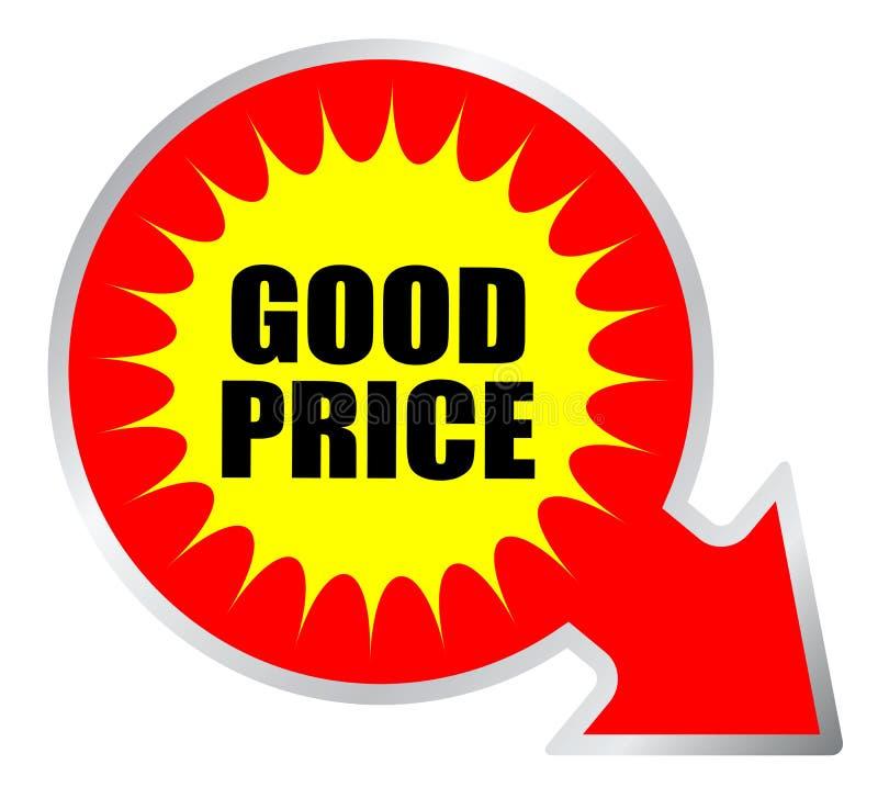 Guter Preisaufkleber lizenzfreie abbildung