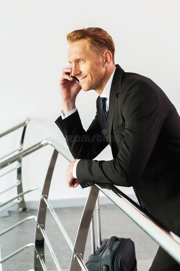 Gutes Geschäftsgespräch stockbilder