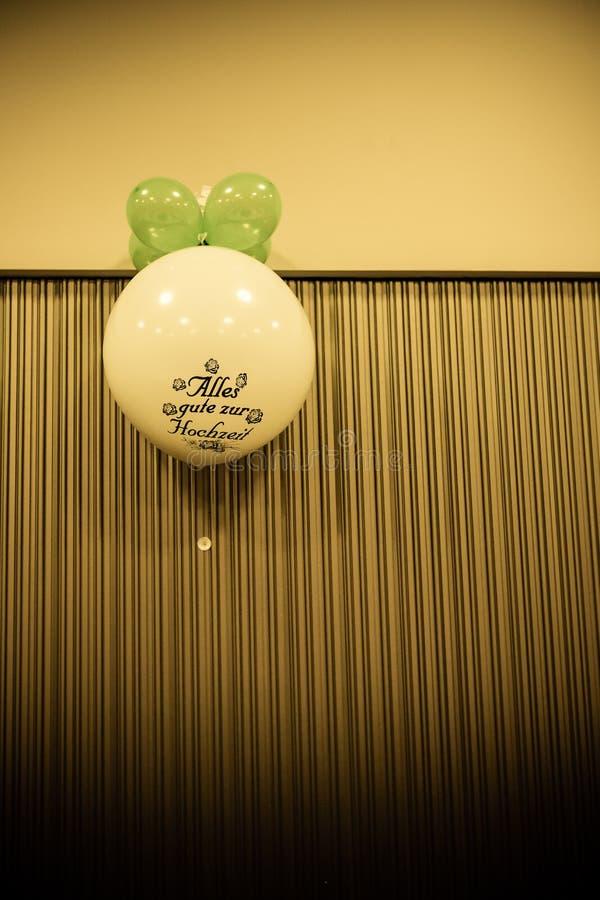 Gutes Glück-Ballon stockfotografie