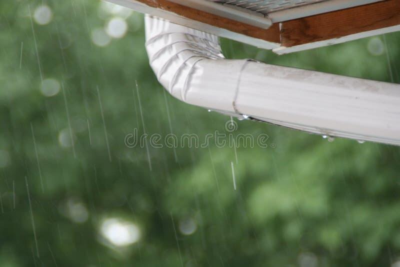 Gutter Tears stock photo
