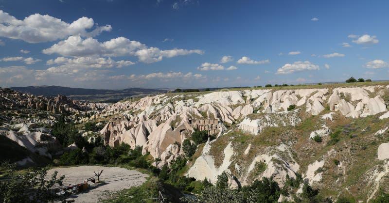 Guvercinlik Valley in Goreme, Cappadocia. Guvercinlik Valley in Goreme Town, Cappadocia, Turkey stock image