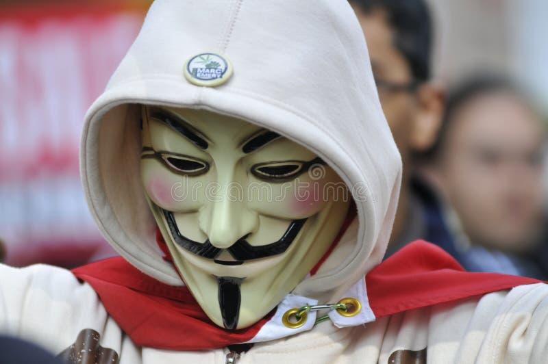 Guy Fawkes imagem de stock