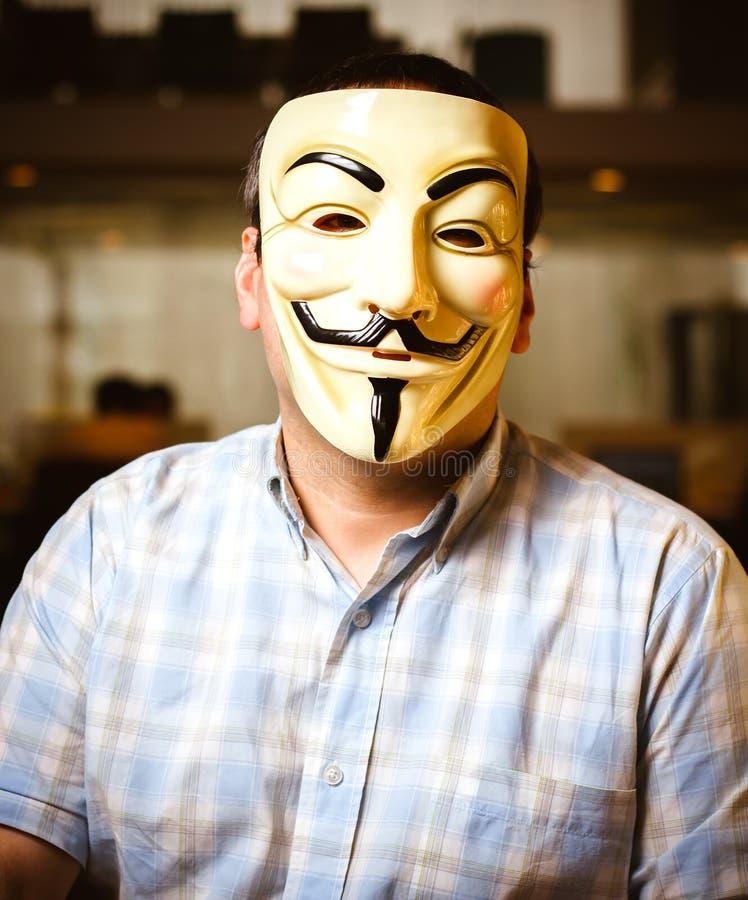 Guy Fawkes Mask arkivfoto