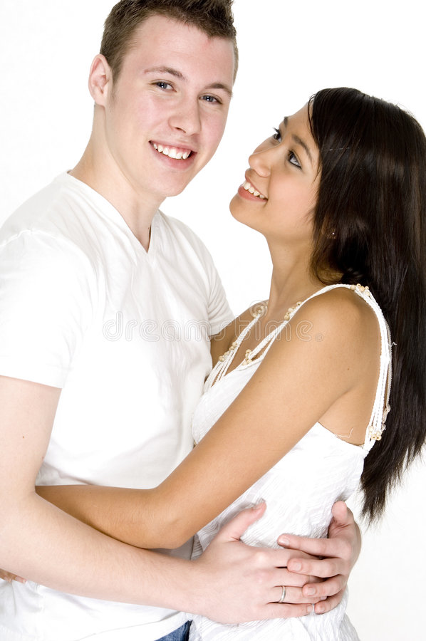 Guy With His Girl royalty free stock image