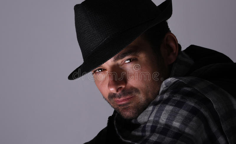 Guy From Italy resistente foto de stock