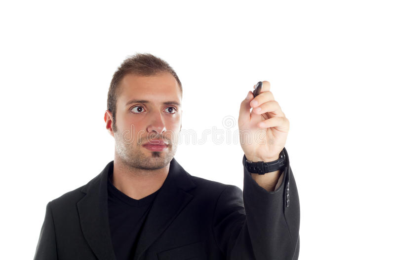 Download Guy in the office stock image. Image of modern, looking - 21069949