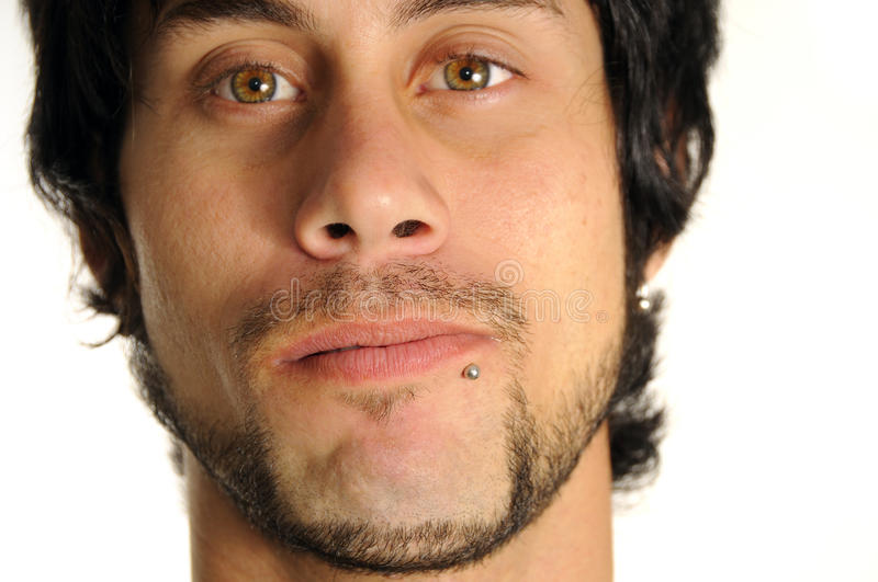Download Guy with piercing stock image. Image of looking, cute - 10560125