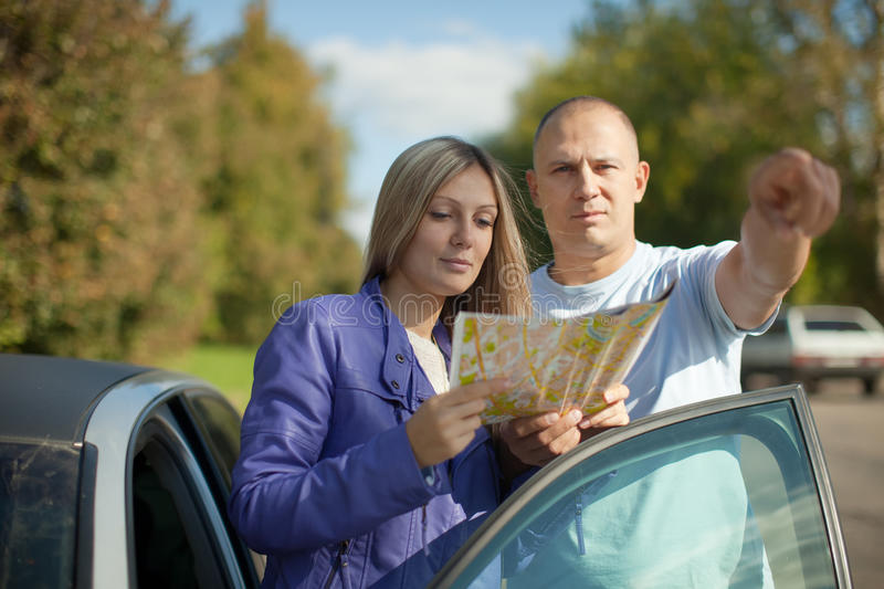 Download Guy points the direction stock image. Image of person - 26567129