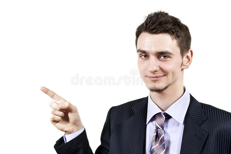 Download Guy Points The Finger Stock Images - Image: 24099394