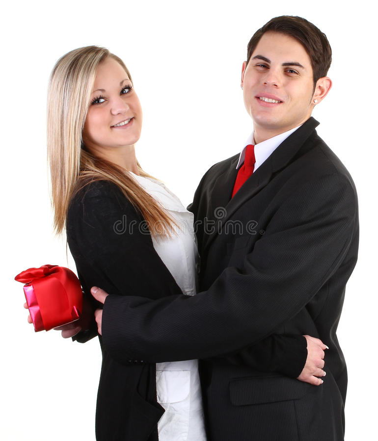 Download A Guy With A Present. Stock Photography - Image: 22523362