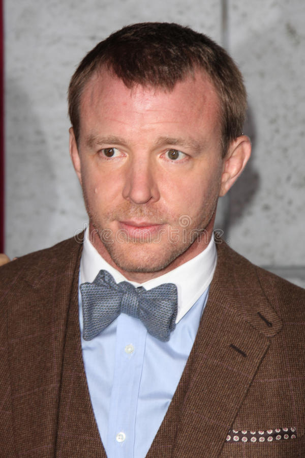 Guy Ritchie fotografia stock