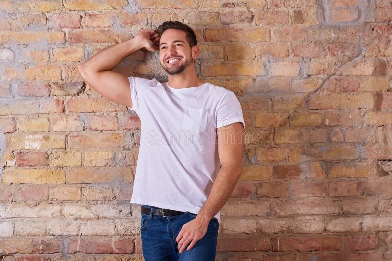 Guy With sexy un sorriso immagine stock libera da diritti