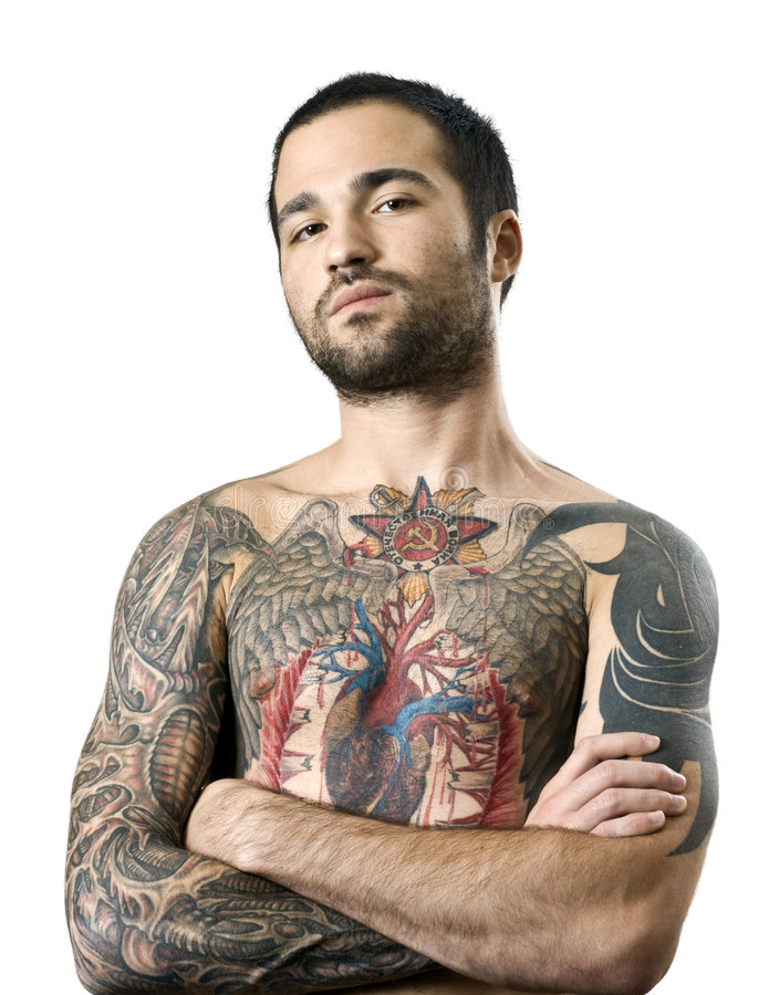 Download Guy With A Tattoo Editorial Stock Image - Image: 6921894