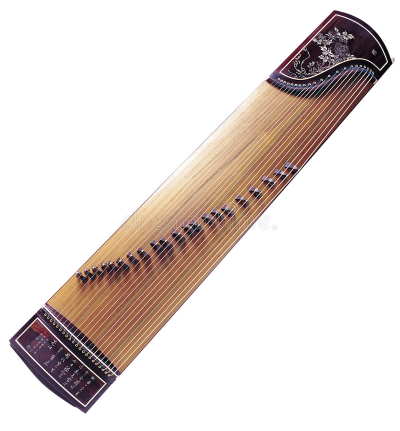 GuZhen Musical instrument royalty free stock photography