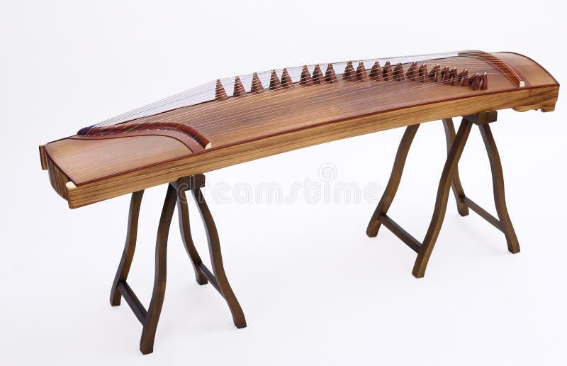 Guzheng kinesfolkmusik royaltyfri foto