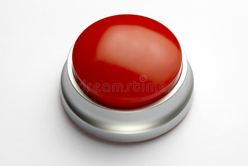guzik czerwień fotografia stock