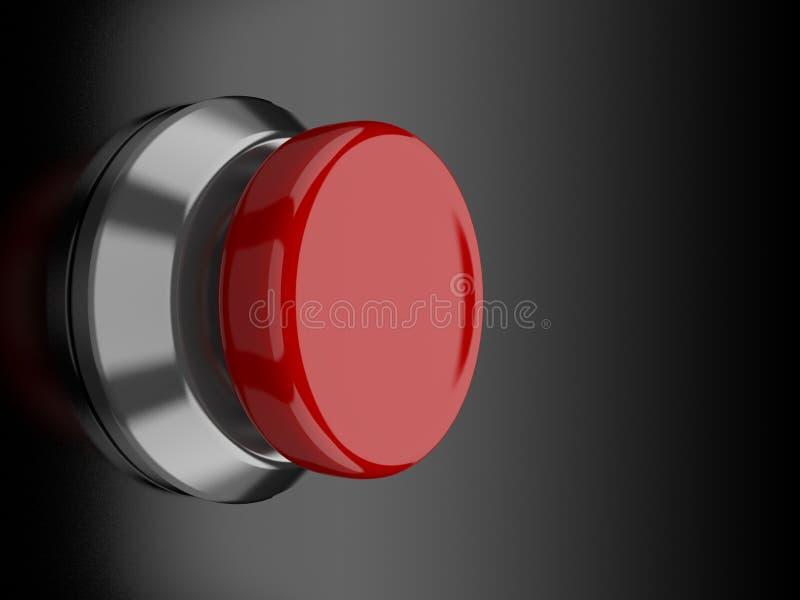 guzik czerwień