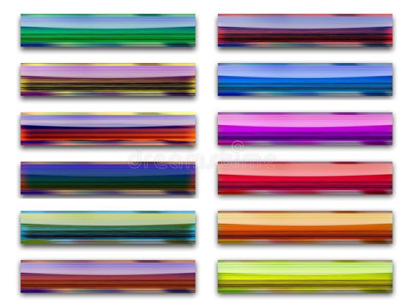 guzik koloru drewna ilustracja wektor