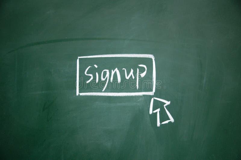 guzik podpisuje podpisywać obraz royalty free