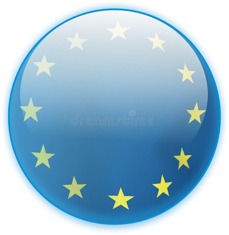 guzika społeczności euro flaga obrazy stock