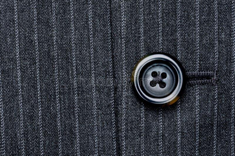 guzika szpilka paskujący kostium zdjęcia stock
