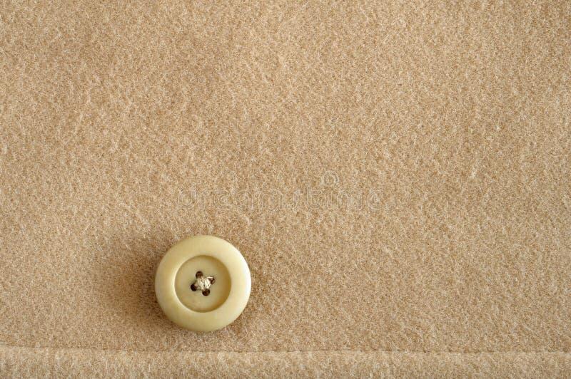guzika tkaniny wełna obrazy stock
