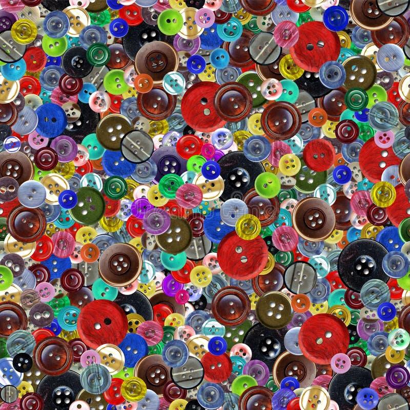 Download Guziki Deseniują Bezszwowego Rocznika Zdjęcie Stock - Obraz: 12400852