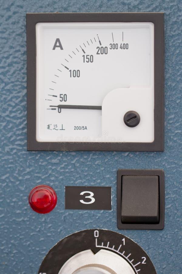 guziki kontrolują zarządzania panelu gracza obrazy stock