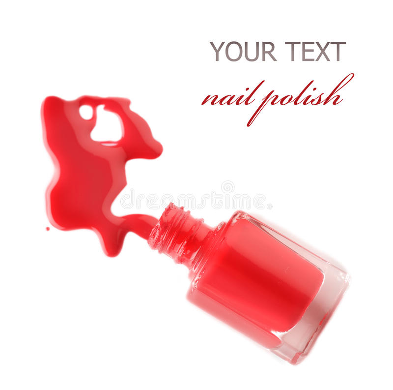 Gwóźdź polish.Manicure obraz royalty free