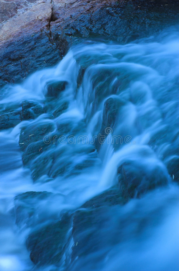 gwałtowny 1 wodospadu obrazy royalty free