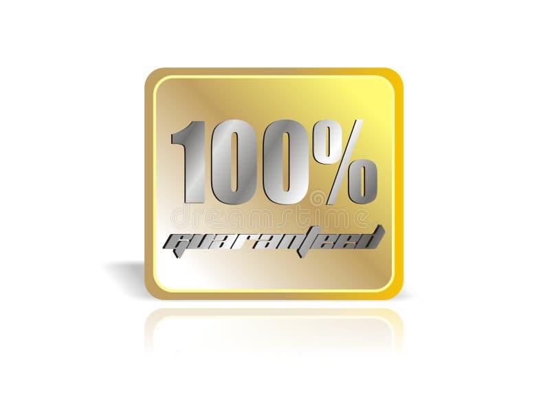 gwarantowane 100 square ilustracji
