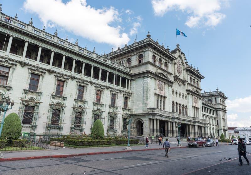 GWATEMALA, LISTOPAD - 21, 2017: Krajowy pałac kultura w Gwatemala mieście fotografia stock