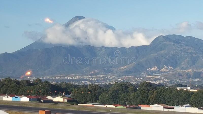 Gwatemala wulkan zdjęcia royalty free