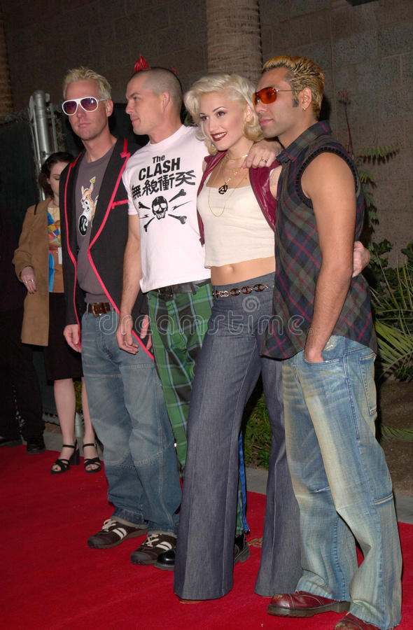 Download Gwen Stefani,No Doubt editorial stock photo. Image of featureflash - 36734878