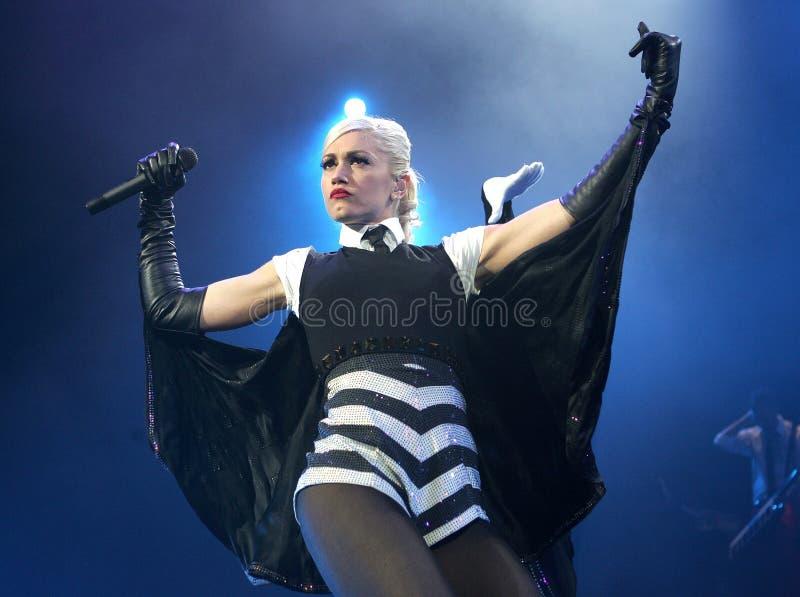 Gwen Stefani Performs stock afbeelding