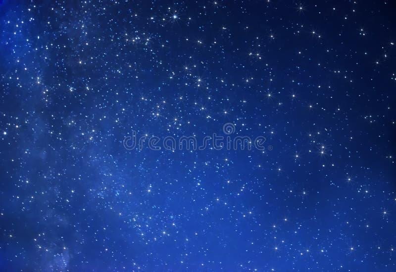Gwiaździsty niebo obraz stock