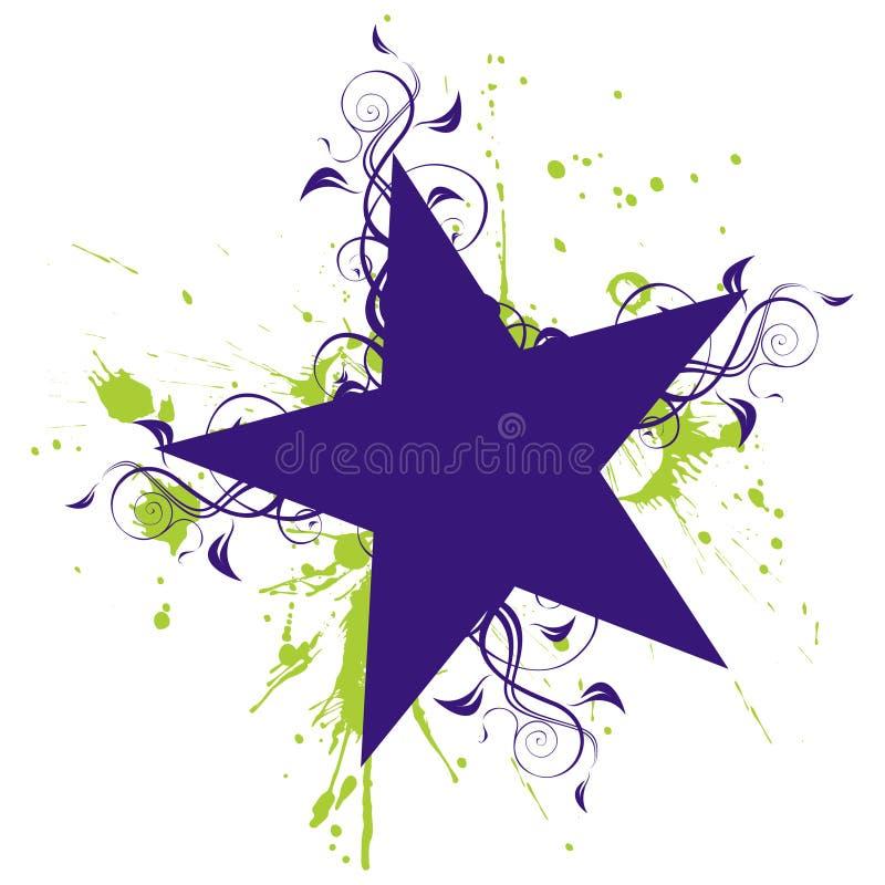 gwiazda royalty ilustracja