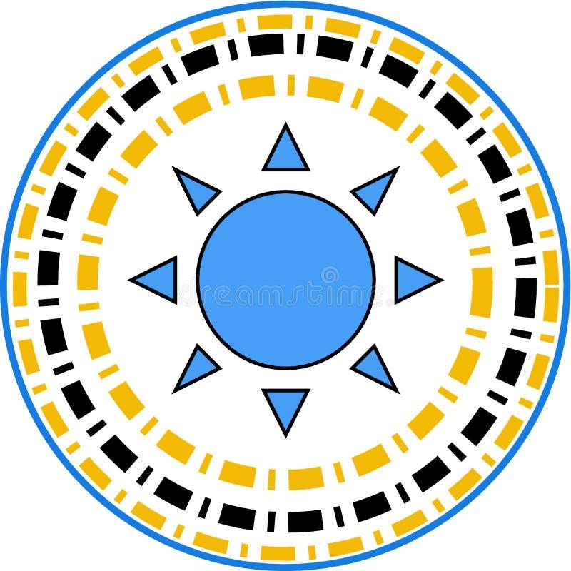 Gwiazda pisać na maszynie loga ilustracji