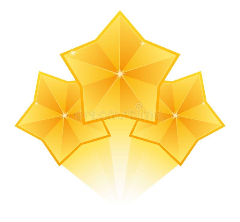 Gwiazda wybuchu elementy na białym tle Gwiazdowy skutek, wybuchów fajerwerki, banger błysk również zwrócić corel ilustracji wekto royalty ilustracja