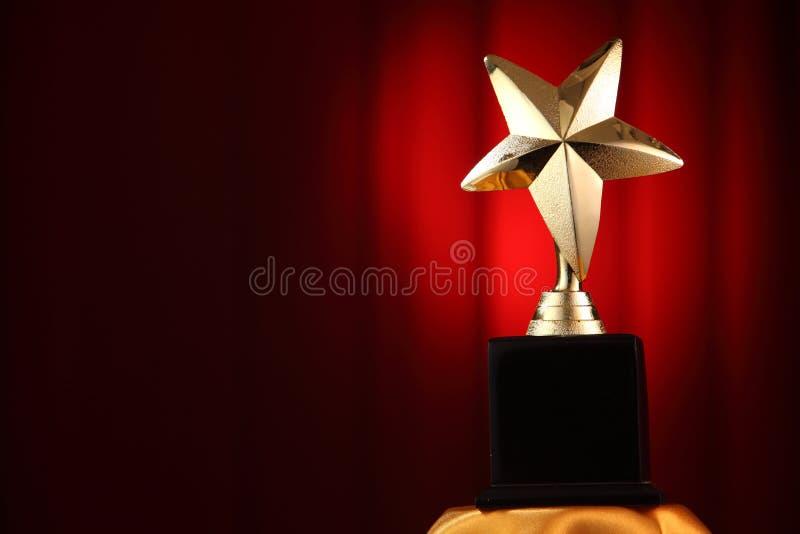 Gwiazdowa nagroda zdjęcie stock