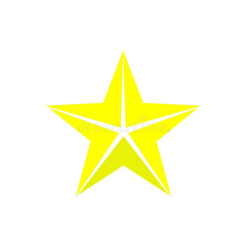 Gwiazdowa wektorowa ikona Gwiazdowy ilustracyjny symbol dla sieci lub wiszącej ozdoby ilustracji