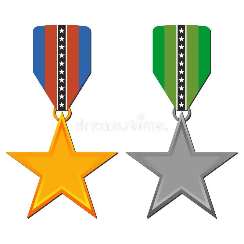 Gwiazdowi medale ilustracji