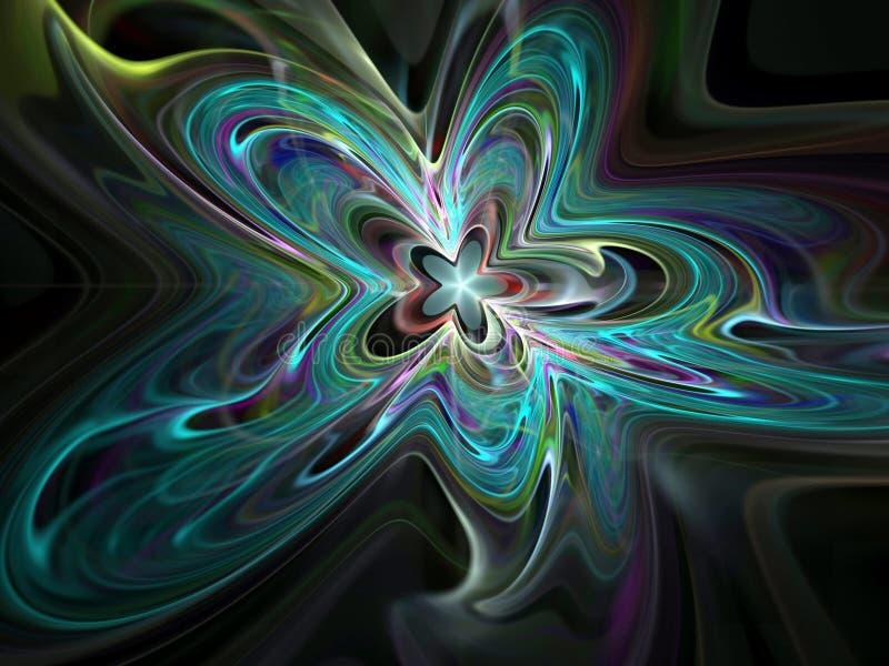 Gwiazdowy amorficzny ilustracja wektor