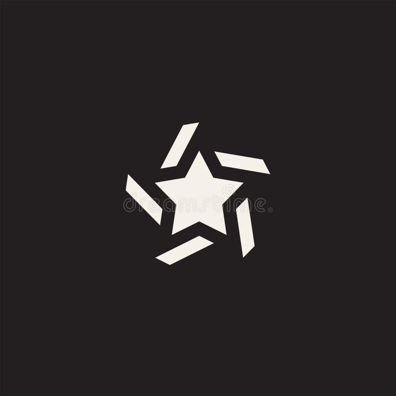 Gwiazdowy ikona piktogram Poj?cie ocena, sukces, nagrody ilustracja wektor