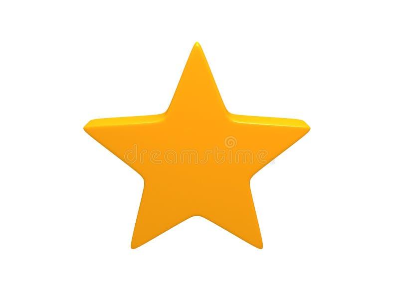 gwiazdowy kolor żółty zdjęcie royalty free